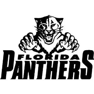 Florida Panthers NHL Vinyl Decal Stickers / 16 X 10.8