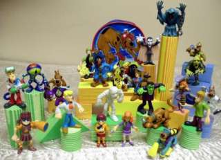 HUGE Scooby Doo 44 Piece Mystery Mates Play Set NEW