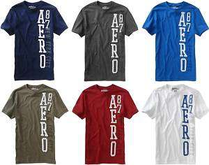Aeropostale mens logo T Shirt Tee S,M,L,XL,XXL,2XL NWT