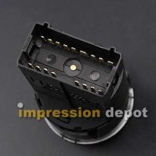Fog Light Switch Control for VW Bora Polo 9N 9N3 Lupo Sharan