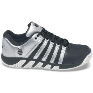 Swiss Mens Pro C Tennis Shoe (Black/ Silver)  Sports