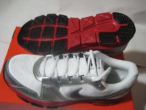 Nike Air Flex Trainer Mens Shoes Size 10, 10.5, 11 White/Black/Silver