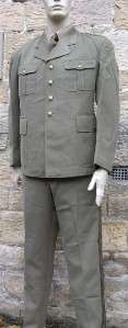 VINTAGE FRENCH ARMY OFFICERS UNIFORM 100 88c