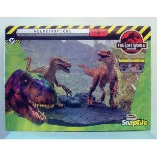 Jurassic Park The Lost World  Velociraptors Snaptite Kit