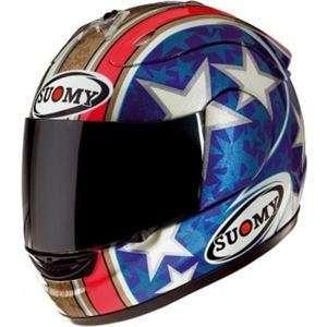 Suomy Excel Hodgson Helmet   3X Large/Blue/Grey Automotive