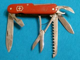 ANTIQUE VICTORIA ARMEE SUISSE SWISS ARMY 8BL VICTORINOX KNIFE KNIVES