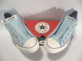 CONVERSE ALL STAR OX SNEAKERS MEN/WOMEN SHOES BLUE 1L671 B SIZE 9.5 11
