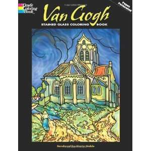 Gogh Stained Glass Coloring Book (Dover Stained Glass Coloring Book