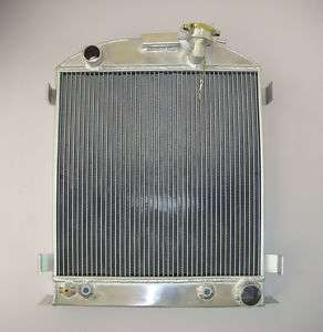 ALL ALUMINUM RADIATOR FORD HIGH BOY 1932 38 CHEVY V8 3 ROW