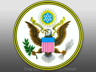 Pluribus Unum   The Great Seal Sticker   decal us usa