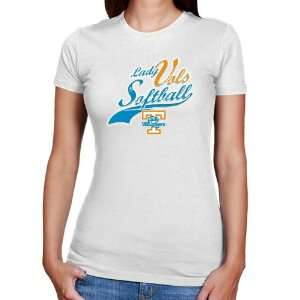 UT Vol Tee Shirt : Tennessee Lady Vols Ladies White