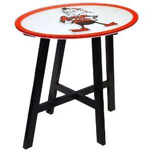 Fan Creations Cleveland Browns Logo Pub Table:  Sports