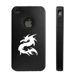 Apple iPhone 4 4G Black Aluminum & Silicone Case Chinese