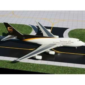 Gemini Jets UPS B747 400F Model Airplane Everything Else