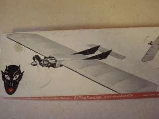 CARL GOLDBERG * LIL SATAN * CONTROL LINE MODEL AIRPLANE KIT **