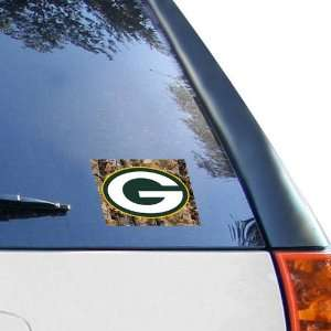Green Bay Packers Official Logo 4x6 Ultra Decal Window