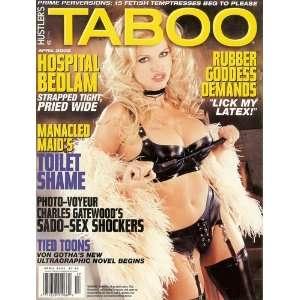 Hustler Taboo Magazine April 2002: Inc. L.F.P.: Books