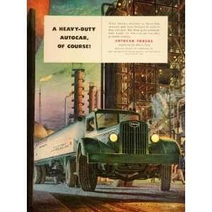 Gas ank anker Semi Ardmore PA   Original Prin Ad Home & Kichen