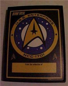 Antioch Star Trek Bookplates USS Enterprise RARE Lot