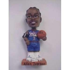 Allen Iverson Blue Jersey Bobbin Head Doll 2000 2001: