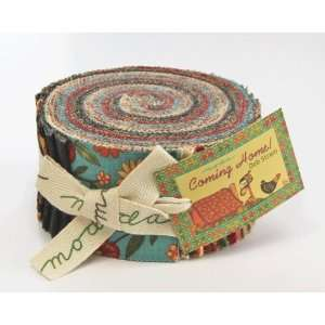 Moda Coming Home Jelly Roll 2.5 Quilt Cotton Fabric Strips