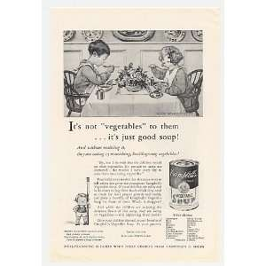 Vegetable Soup Jessie Willcox Smith Print Ad (24086)