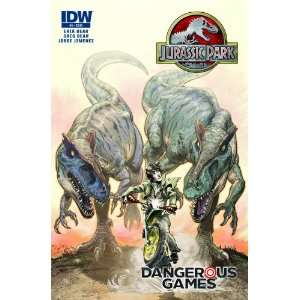 Jurassic Park Dangerous Games GN: Erik Bear, Jorge Jimenez: Books
