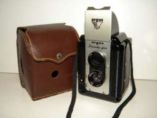 Vintage Argus Lumar Seventy Five Camera with leather case