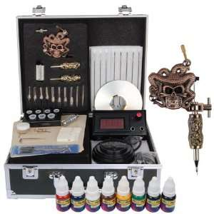 Gun Tattoo Tattooing Supply Machine Equipment Device Dacility Kit Set