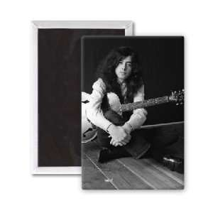 Jimmy Page   Led Zeppelin   3x2 inch Fridge Magnet   large magnetic