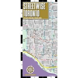 Streetwise Toronto Map   Laminated City Center Street Map of Toronto