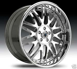 20 ASANTI Wheels & TIRES Chrome Multi Piece AF120 5 LUG 6 LUG