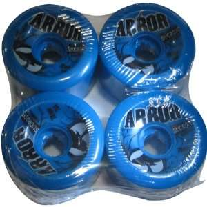 Arbor 4 Set Street Series Skateboard Wheels   Blue / 70mm