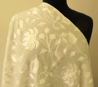 Chain stitch embroidery has long been associated with the Indian
