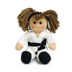 Karate Girl 15 Plush Doll Baby Adorable Toy For Kids Toys & Games