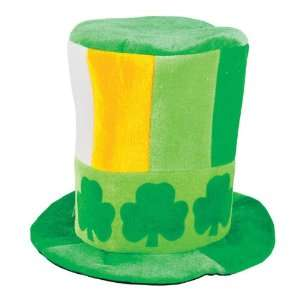 Irish Tri Color Hat With Shamrocks Case Pack 12: Home