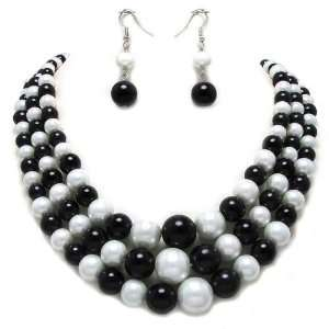and Earrings Set Elegant Trendy Costume Fashion Jewelry Jewelry