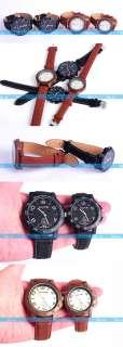 Fashion Simple Sports Unisex Men Lady Quartz Round Wrist Watch