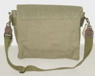 AFRICAN LEATHER & CANVAS SATCHEL / FIELD / BUSH BAG