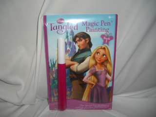 DISNEY PRINCESS TANGLED MAGIC PAINTING BOOK 1 NEW COLOR