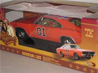 The DUKES of HAZZARD GENERAL LEE DODGE CHARGER Johnny Lightning 118