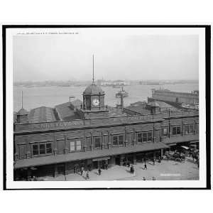 Pennsylvania R.R. Railroad ferries,Philadelphia,Pa.: Home