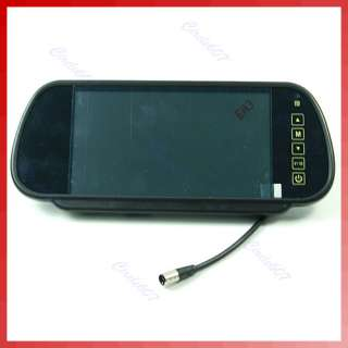 inch TFT LCD Color Car Rearview Mirror Monitor DVD VCR VCD Backup