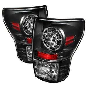 Spyder Auto Toyota Tundra Black LED Tail Light: Automotive