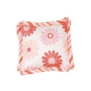 Picci Hippy Flowers Ruffle Pillow