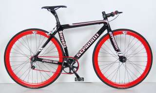 SORRENTO FULL CARBON SINGLE SPEED FIXIE BIKE BICYCLE TRACK 59 cm