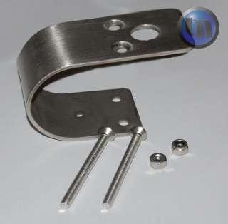 Stainless Steel Bull Bar Antenna Mount Bracket 50mm NEW