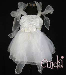 B07 Flower Girl Party Bridesmaid Wedding Pageant Dress
