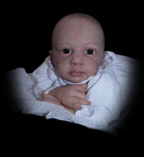Reborn PROTOTYPE ROSEBUD by JEN PRINTY Real life Baby Girl Doll
