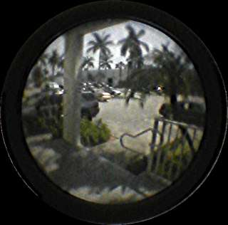 DOOR PEEP HOLE, MARINE,YACHT ,SECURITY, SCOPE VIEWER WH